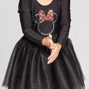 Black Minnie Mouse dress